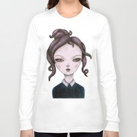 captain Long Sleeve T-shirts featuring captain  by lily
