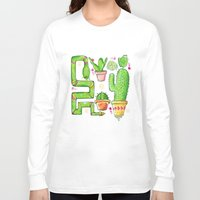 green pattern Long Sleeve T-shirts featuring Green by Grace Sandford