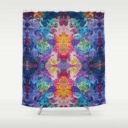 Aurora Swirls Shower Curtain