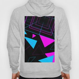 Synth Triangles Hoody
