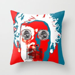Freedom of ... Throw Pillow