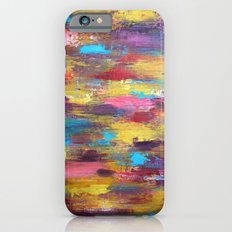 Primary - Textured Palette Knife Painting Slim Case iPhone 6s