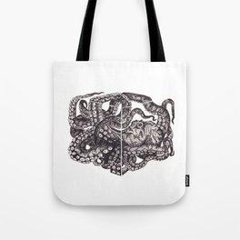 Octopus Invisble Box Tote Bag