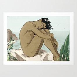 Summertime peace Art Print