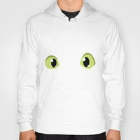 how to train your dragon Hoodies featuring How to train your dragon Dragon eyes  by Komrod