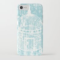 aelwen iPhone & iPod Cases featuring Hang in there.  by Elena O'Neill