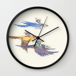 The Race Wall Clock