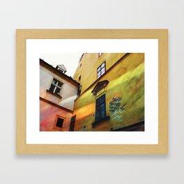 bratislava, slovakia  Framed Art Print