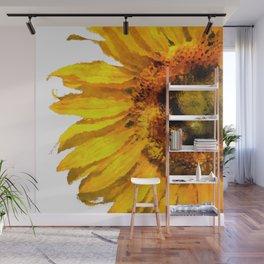 Simply a sunflower  Wall Mural