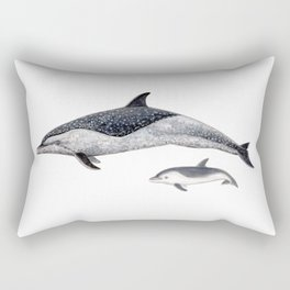 Pantropical spotted dolphin Rectangular Pillow