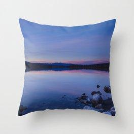 Pahranagat National Wildlife Refuge Sunset #1 Throw Pillow