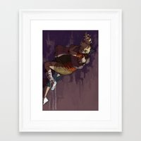 burdge Framed Art Prints featuring How It Ends by Burdge