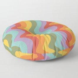 Rainbow Stripes 2 Floor Pillow