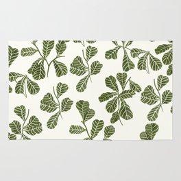 Fig Leaf Pattern Rug