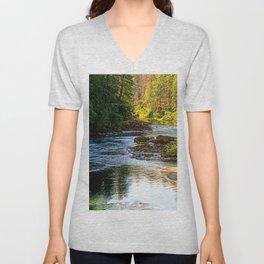 Bend In The River Unisex V-Neck