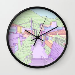 Another everyday place in Japan Wall Clock