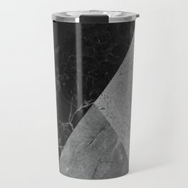 Marble and Granite Abstract Travel Mug