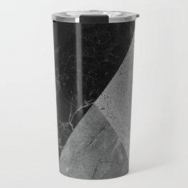 Marble and Granite Abstract Travel Mug