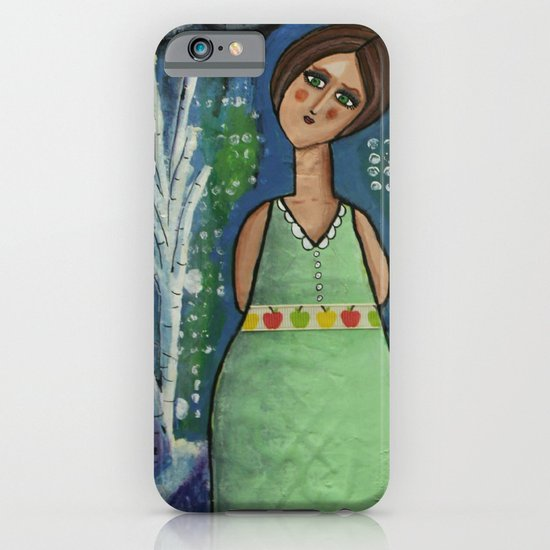 Aurora Leaves the City Behind iPhone & iPod Case