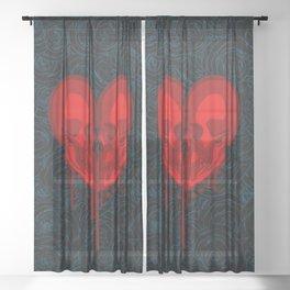 Eternal Valentine Sheer Curtain