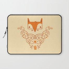 Ornate Fox Laptop Sleeve