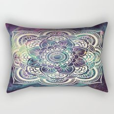 Galaxy Mandala : Deep Pastels Rectangular Pillow