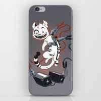 Cybercat Charges Up iPhone & iPod Skin