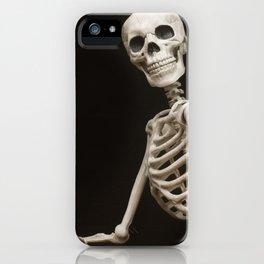 Greetings from Halloween Skeleton iPhone Case