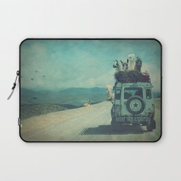 NEVER STOP EXPLORING II SOUTH AMERICA Laptop Sleeve