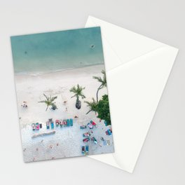 Aerial Koh Phangan Beach Stationery Cards