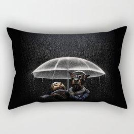Cat & Dog Rectangular Pillow