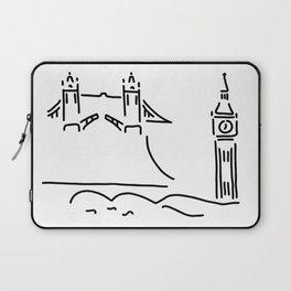 London tower bridge big ben Laptop Sleeve