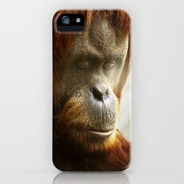 Sumatran Orangutan iPhone Case
