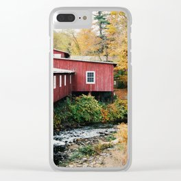Vermont Sightings - 35mm Film Clear iPhone Case