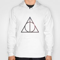 deathly hallows Hoodies featuring Deathly Hallows by Michal