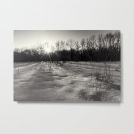 waking up Metal Print