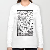 bones Long Sleeve T-shirts featuring Bones by Jimmy Kid