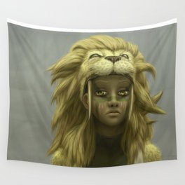 Boy King Wall Tapestry