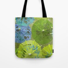 Parasols Blueberry Lime Tote Bag