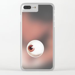Ultra-violence and Beethoven (AClockwork Orange) Clear iPhone Case