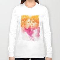 valentine Long Sleeve T-shirts featuring Valentine by Aurora Wienhold