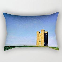 Broadway Tower, colour version. Rectangular Pillow