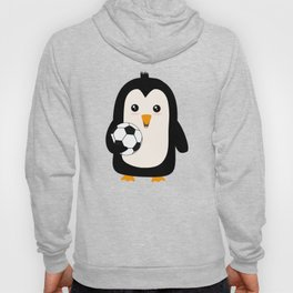 Soccer Penguin with ball T-Shirt Dg3ps Hoody