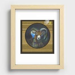 Aries Recessed Framed Print