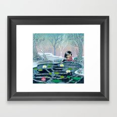 Reflection of Self and Letting it Go Framed Art Print