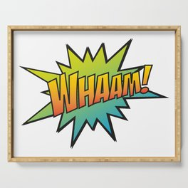 Whaam! Serving Tray