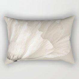 cream Rectangular Pillow