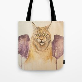 Lynx with wings Tote Bag
