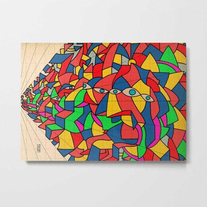 - calculax - Metal Print