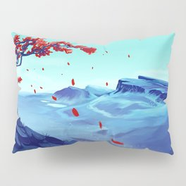 The Red Tree Pillow Sham
